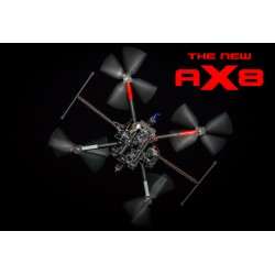 AX8 Heavy Lift Professional Coaxial Octocopter