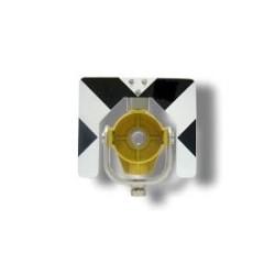 Μεταλλική υποδοχή πρίσματος (κίτρινη) με μεταλλικό στόχο