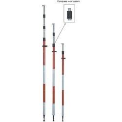 Τηλεσκοπικός στυλαιός αλουμινίου 4.6m